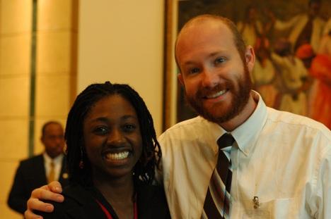 Josh & Gayon, our language guru